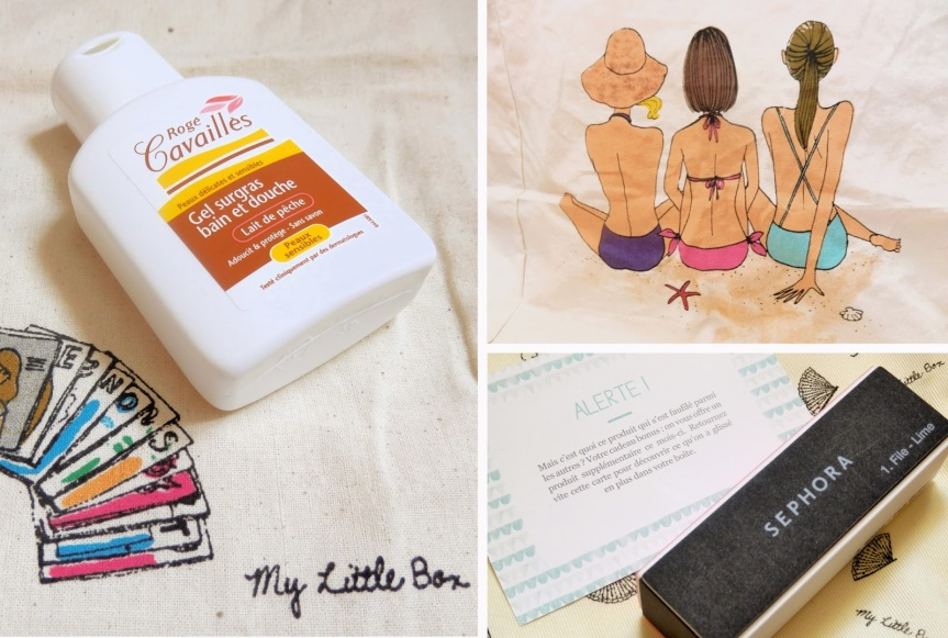My Little Holiday Box – Juillet2013
